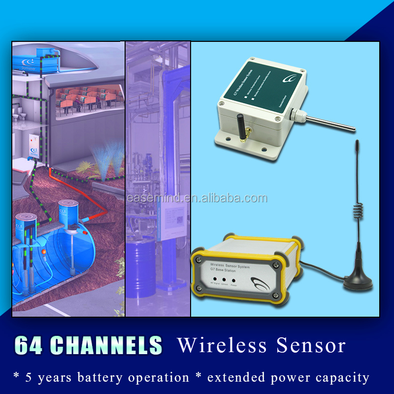 64 Channels Wireless RF 433 temperature sensor for weather station