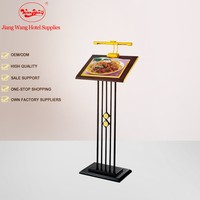 Alibaba china Hotel lobby equipment Sign stand, sign board stand