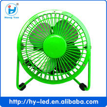 Metal Series Mini USB Fan, 360 Degree Rotate CE ROHS HY-04
