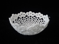 Handmade cotton fruit bowl household decoration plate