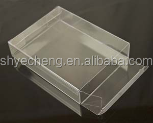 eco recyclable pvc clear plastic candy box manufacturer and exporter (YC7043)