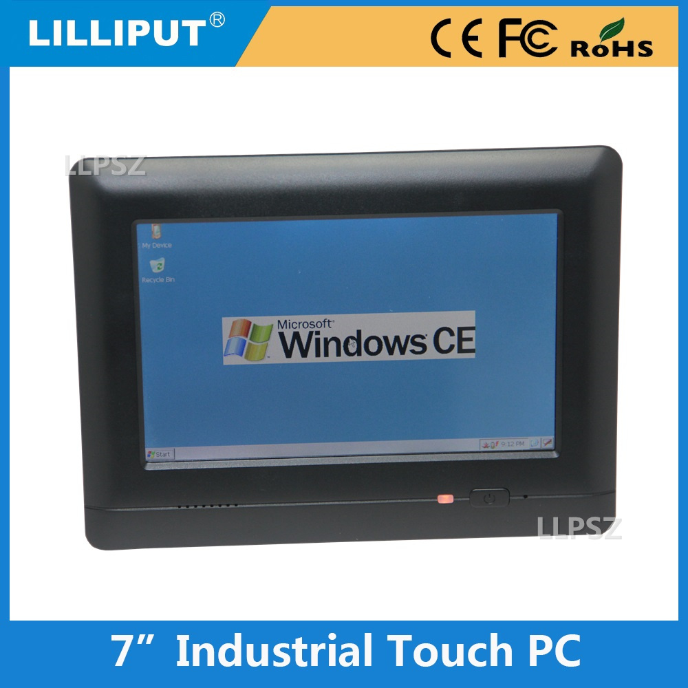7 Inch Industrial Touch PC Computer With 512MB Flash ROM + 128 MB DDR2 RAM