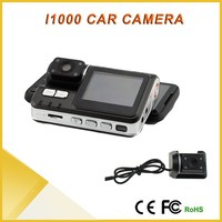 Drop Shipping Separate Cameras Video Registration HD 720P H.264 Mini Camcorder Dual Racord Dash Car DVR