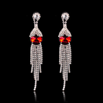 2015 New Design Fashion Pendant Crystal Earring For women Wholesale