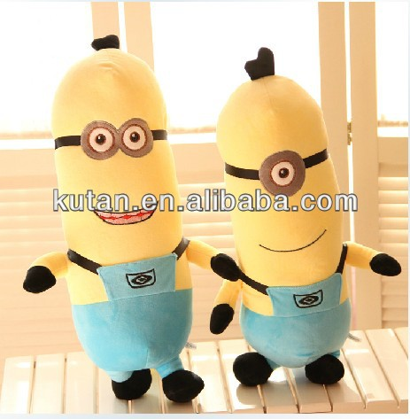 hot sale Despicable me 2 plush minion toy