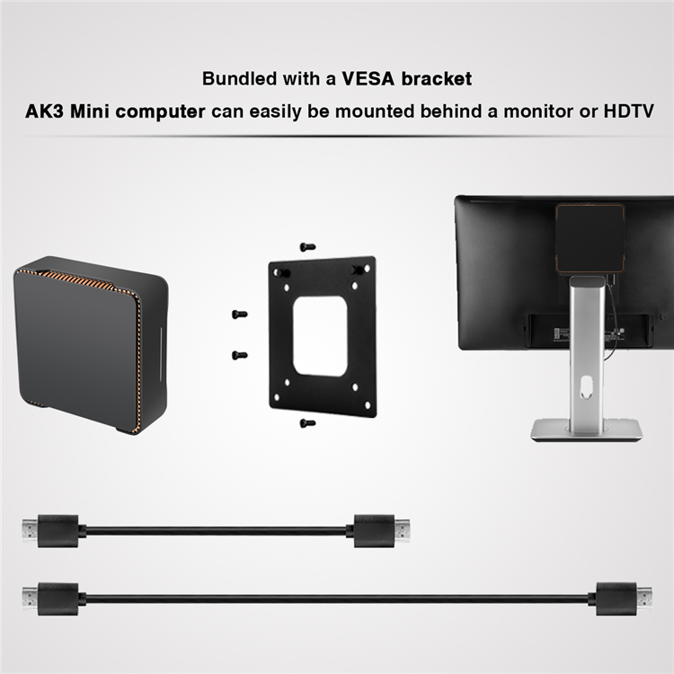 AK3V  wins 10 mini pc 4G 32G ott tv box 4k hot movies  led tv box av cable set top box