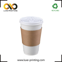 Beverage paper cup 12oz paper coffee cups and sleeves