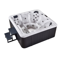 family free sex usa massager bath hot tub Clear Acrylic Bathtub from china