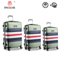 Colorful Hybrid abs luggage