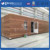 Prefabricated bathroom with wooden house