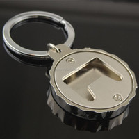 Promotional fashionable wholesale unique beer bottle opener keychain