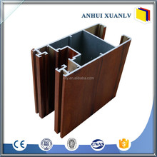 Linear aluminum window door extrusion frame profile