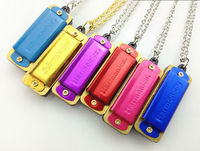 New mini Swan necklace Harmonica 4 hole High Quality Pendant Harmonica