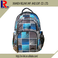 New design trendy high school student backpack