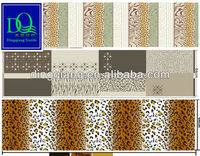 polyester wholesale chinese fabrics animal printed to import fabric of China