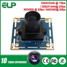 8mp micro mini hd cmos security camera module with SONY IMX179 Sensor