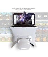 VR headset VR 3D Plastic Edition Head Mount Virtual Reality 3D Glasses Passive Google glasses