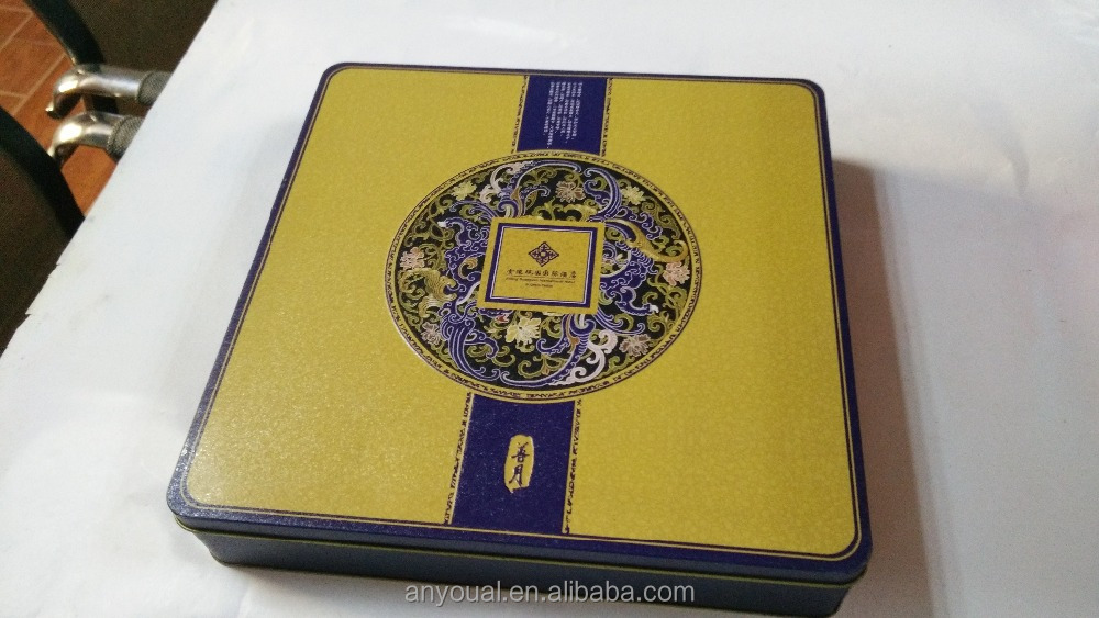 Big square tin box jingling Guanyuan international suzhou China hotel special