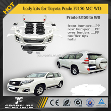 PP body kits fit for Toyota Prado FJ150 MC WD