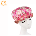 Wholesale customized waterproof shower cap for hotel
