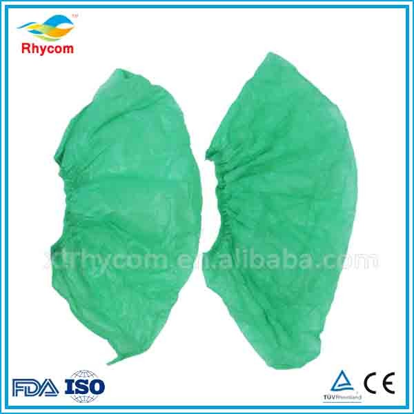 Hospital use waterproof medical non woven shoe cover in CE/ISO standard