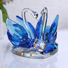 Home Decoration Gift Crystal Swan Crystal