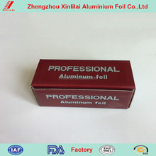 hair foil dispenser for aluminium foil