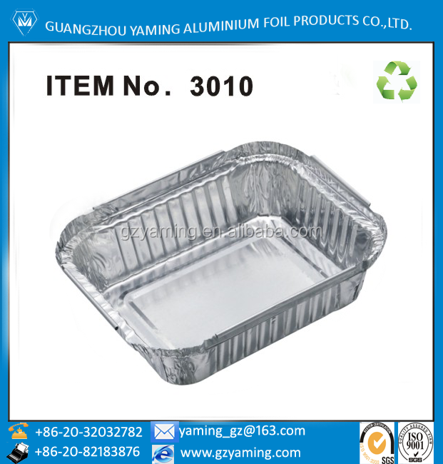 food use take away foil food container restaurant steam dish container