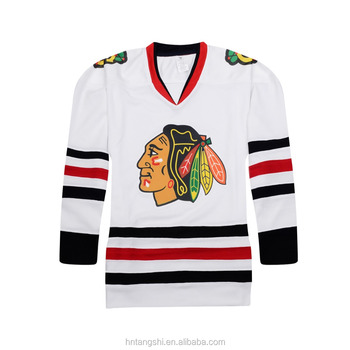 black hawk ice hockey wear