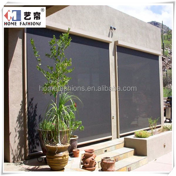 Yilian Outdoor Motorized Roller Blinds Roller Shutter