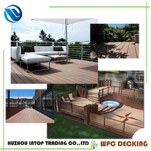 30 x140mm plastic wood wpc outdoor floor balcony cover