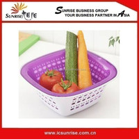 Vegetable Basket With Lid Cover