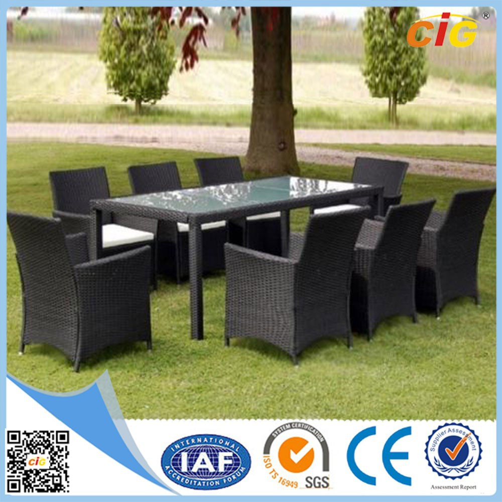 9pcs Leisure KD Design Rattan Outdoor Garden Furniture