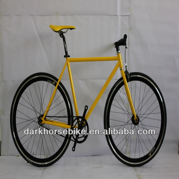 Steel frame track bike,fixed gear bike,700c cycling