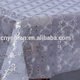 YiWu factory printed beautiful oil proof stamp silver PVC elegant table cloth 137cm*20m in roll YR-006B