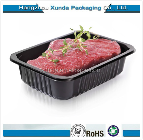 Eco -Friendly Disposable Plastic Meat Packaging Tray