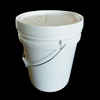 wholesale durable 5 gallon plastic round bucket food grade
