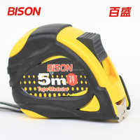 5m rubber covered magnetic steel measuring tape