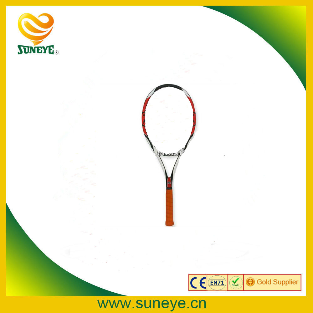 head aluminum tennis racket with plastic bags tennis racket