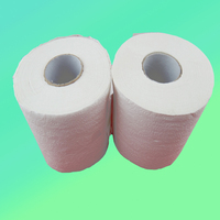 Unbleached 100g 2 ply toilet tissue for hotel
