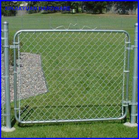 welded chain link fence galvanized for livestock breeding