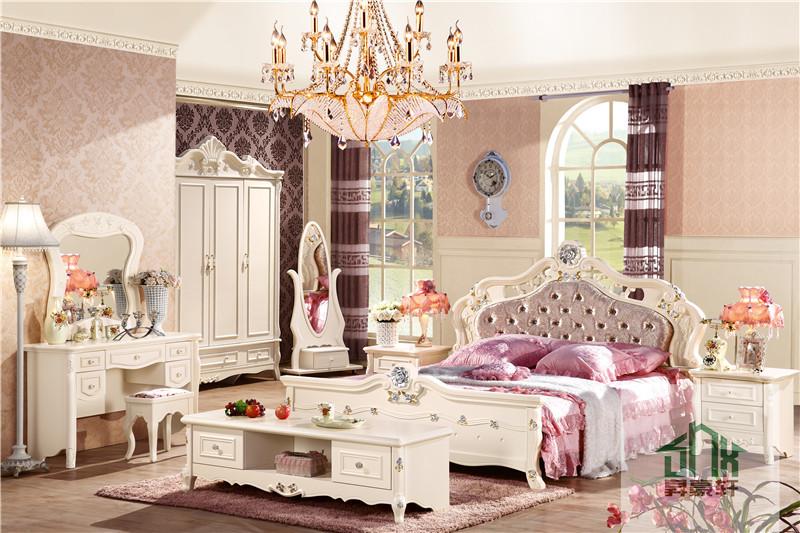 Bedroom Sets Girl latest fancy bedroom set ha-909# antique bedroom furniture set