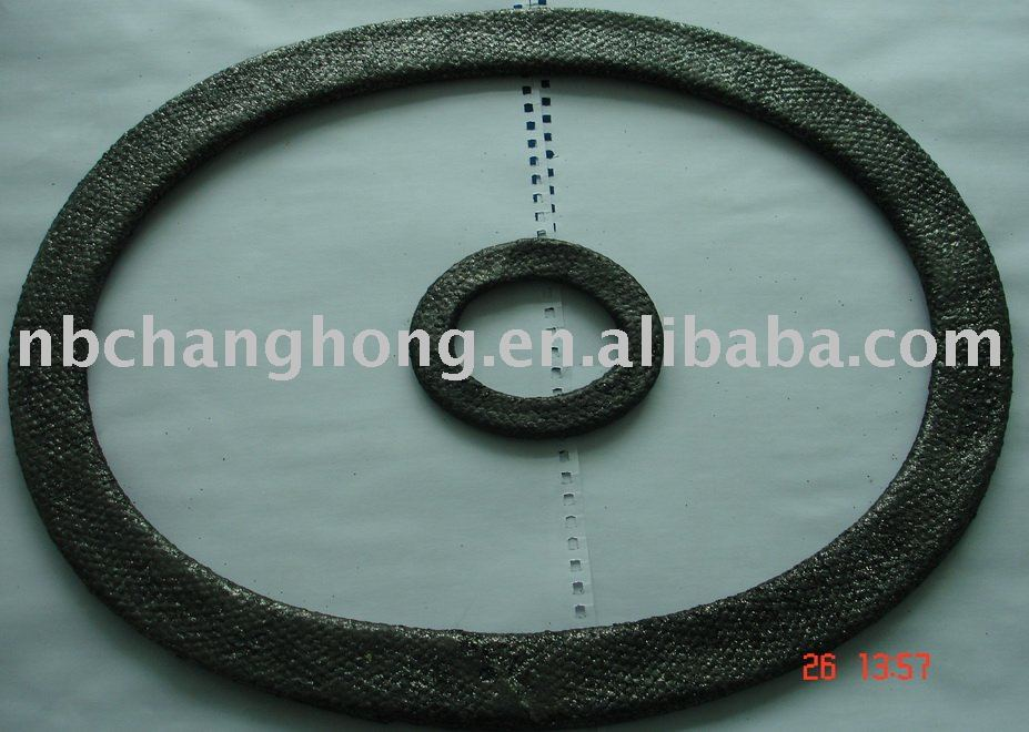 saeling gasket coated with graphite and rubber with ss inside