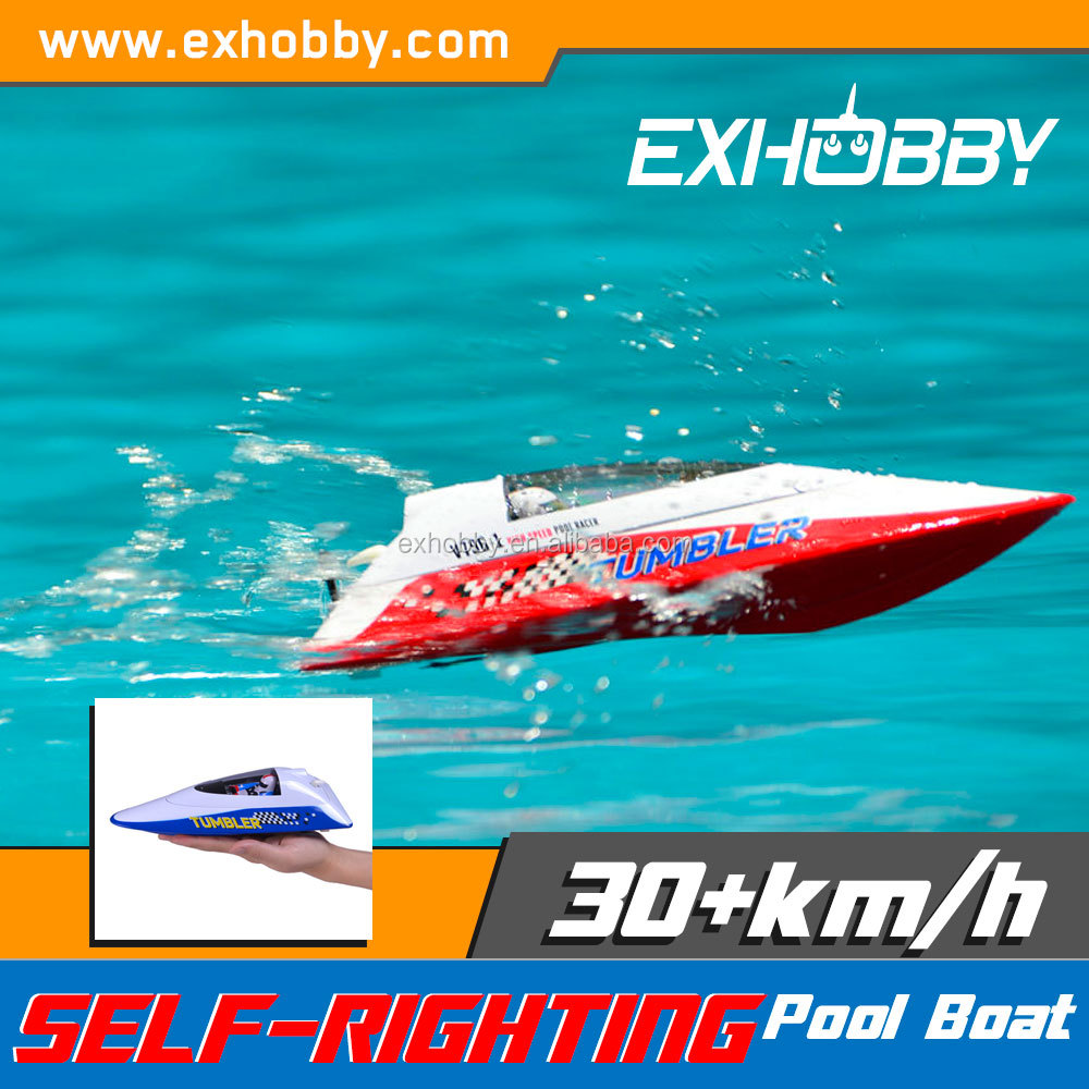 Hot selling high speed red plastic remote control brushless <strong>boat</strong> for kids