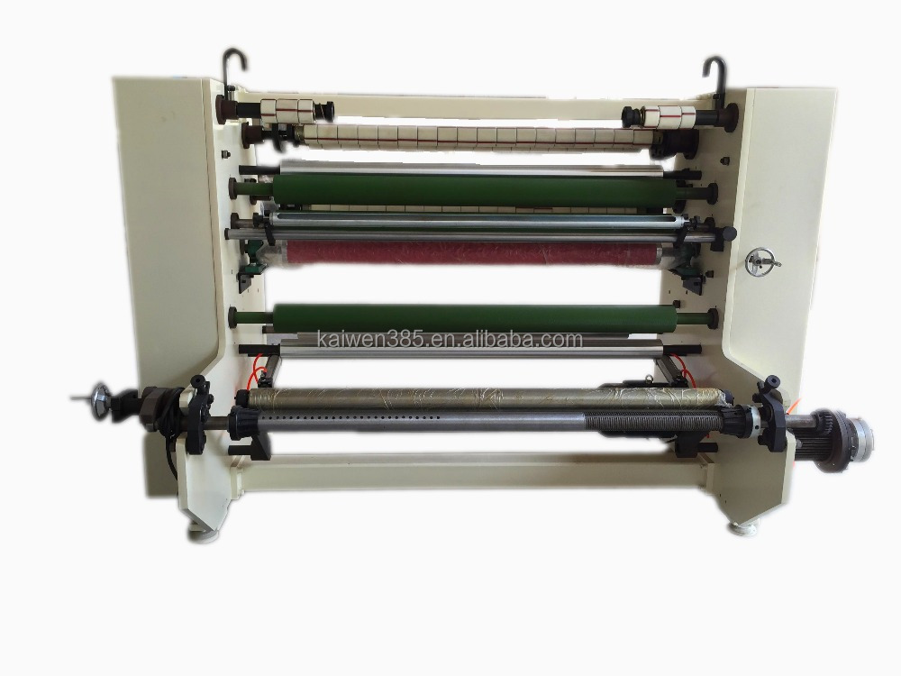 KW-210 Glass Paper label slitting and rewinding machine
