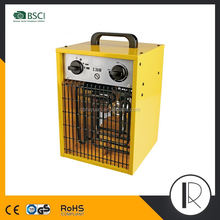 0720220 CE RoHS Approved 3KW Electric Industrial Fan Heater