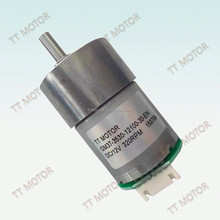 small 37mm dc gear motor for machine