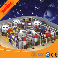 Unique design traffic spaceship theme park indoor toy for kids