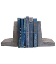 Personalized Handmade Painted Resin Modern Bookends