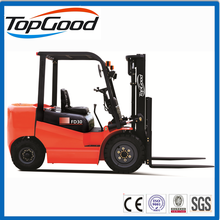 TOPGOOD 3 ton diesel forklift, new forklift with China/Japan engine, manual hydraulic forklift on sale